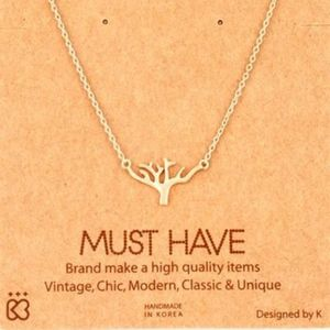Jewelry - Rose Gold Branch Necklace